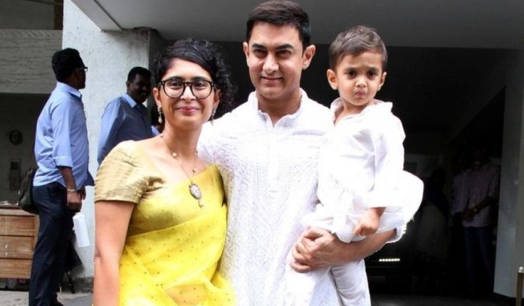 Aamir Khan and family